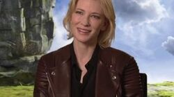 How To Train Your Dragon 2 Cate Blanchett On Working With The Director