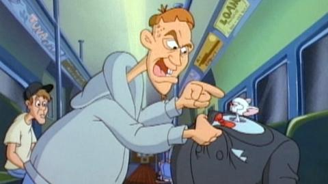 """Pinky and the Brain Vol. One (1995) - Clip From Eps. """" Of Mouse and Man,"""" Freak"""