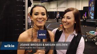 Star Wars Celebration Fan Reaction - Joanie Brosas & Megan Golden