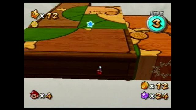Super Mario Galaxy 2 Wii - Puzzle Plank Galaxy - The Puzzling Picture Block
