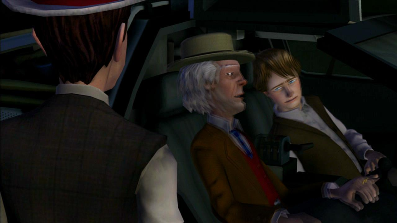 Back to the Future The Game - Episode 2 Game Over