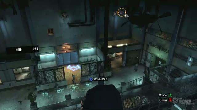 Batman Arkham Asylum Xbox 360 Feature-Commentary - Silent Knight Challenge Room Extended Walkthrough