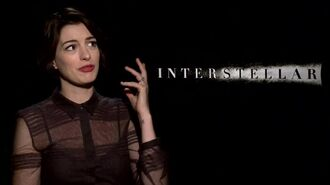 Interstellar - Anne Hathaway Interview
