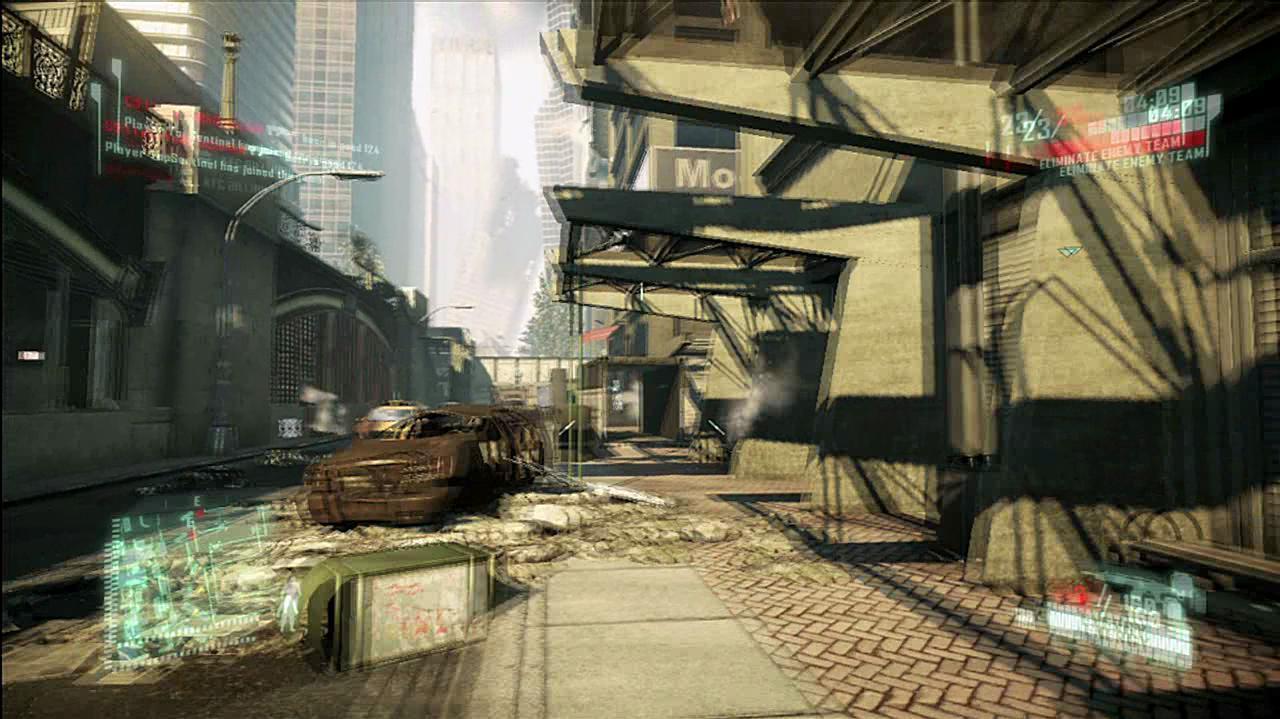 Crysis 2 - Retaliation Pack Park Avenue Video