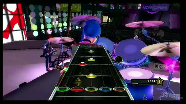 Band Hero Nintendo Wii Gameplay - Love is a Battlefield