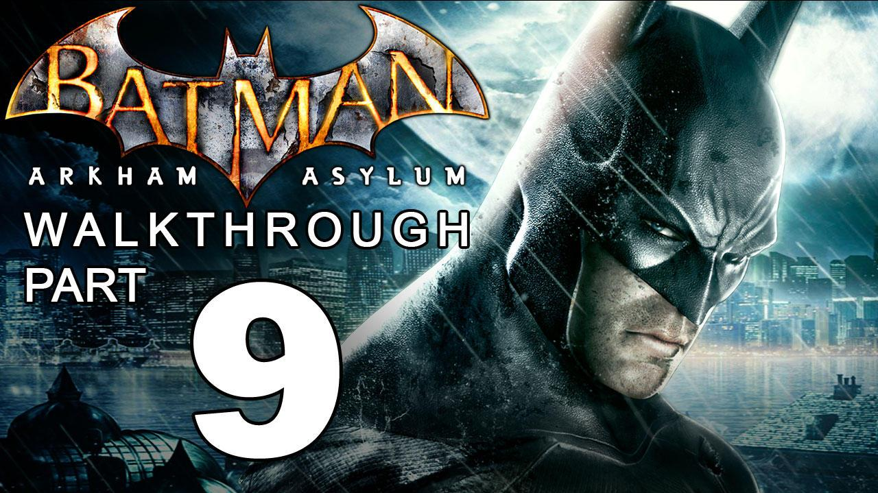 Batman Arkham Asylum Walkthrough Part 9 of 14 Botanical Gardens Titan Fight