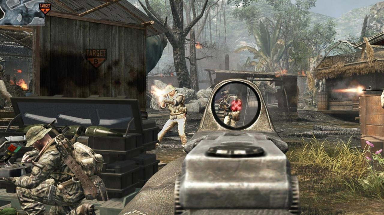 Call of Duty Black Ops Map Walkthrough – Jungle