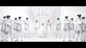 "The Hunger Games Mockingjay Part 1 - Panem Address 2 ""Unity"""