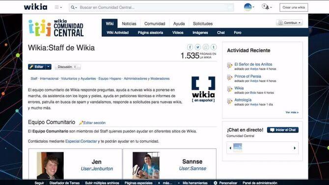 Universidad de Wikia - Cómo contactar a Wikia