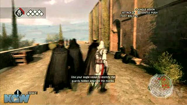 Assassin's Creed 2 X360 - Walkthrough - Assassin's Creed 2 MS 5 - The Cowl Does Not Make the Monk