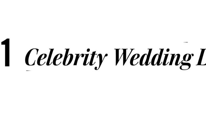 Top 10 Celebrity Wedding Dresses 3