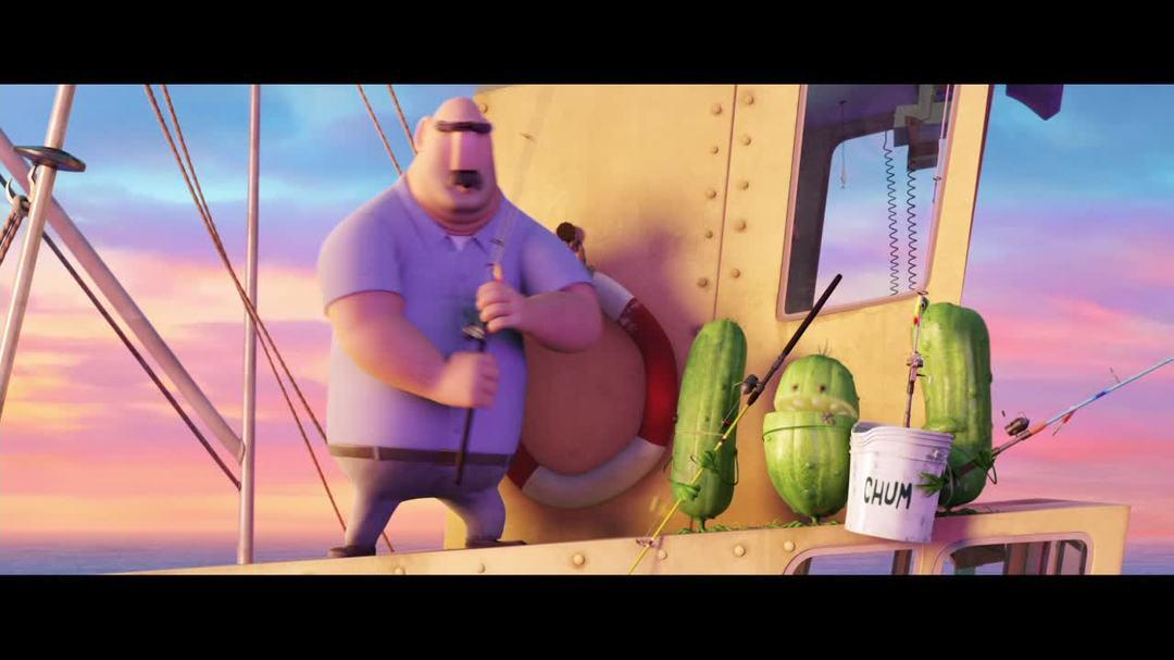 Cloudy With A Chance Of Meatballs 2 - Singing With Pickles Clip