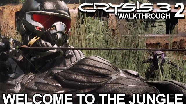 Crysis 3 Walkthrough - Welcome to the Jungle on Supersoldier Difficulty (Part 2)