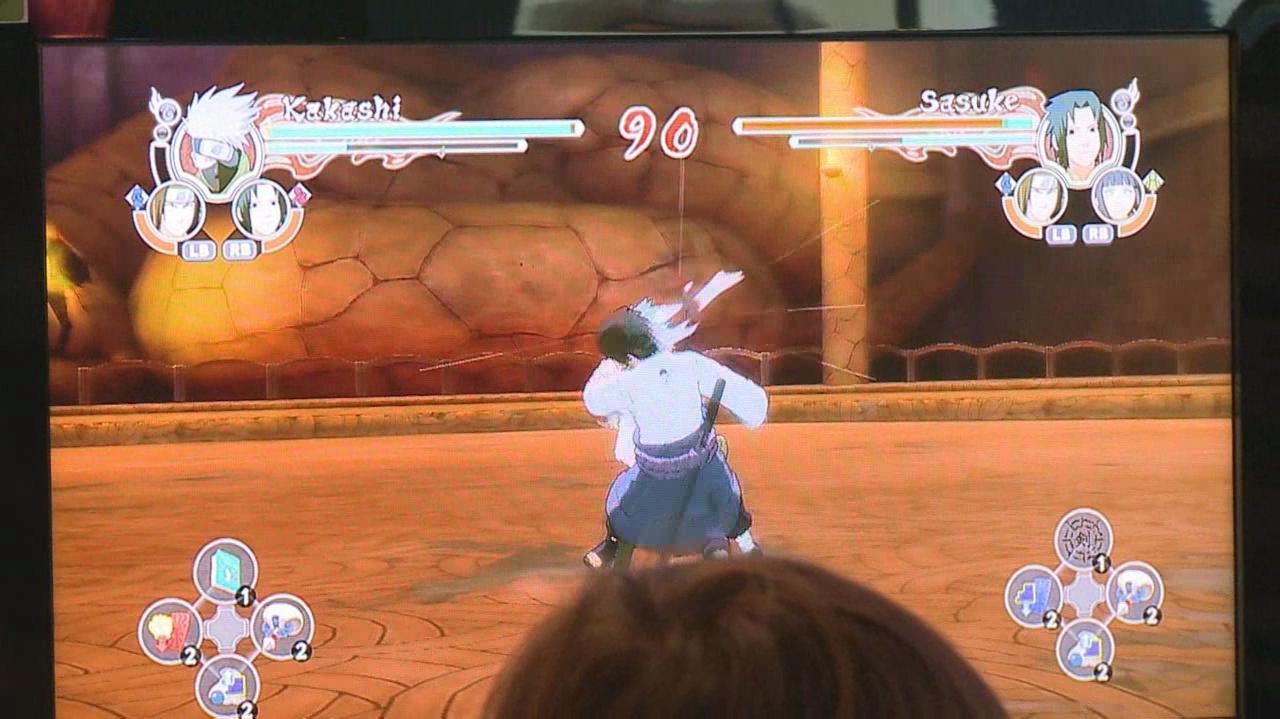 Gamescom Naruto Ultimate Ninja Storm 2 Gameplay Clip