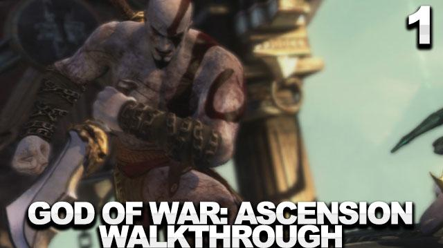 God of War Ascension Walkthrough Part 1 - Prison of the Damned