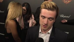 The Hunger Games Mockingjay Part 1 - Josh Hutcherson Interview