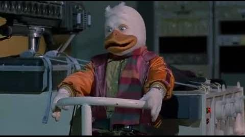 Howard the Duck - fight with the dar over lord