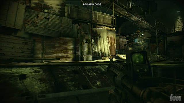 Killzone 2 PlayStation 3 Gameplay - Nice Water Effect