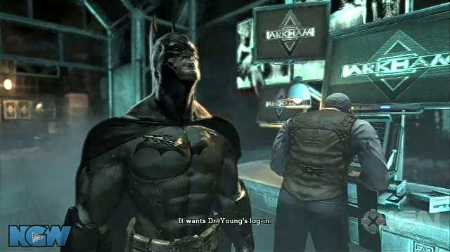 Batman Arkham Asylum Video Guide-Walkthrough - BAA - Save Gordon