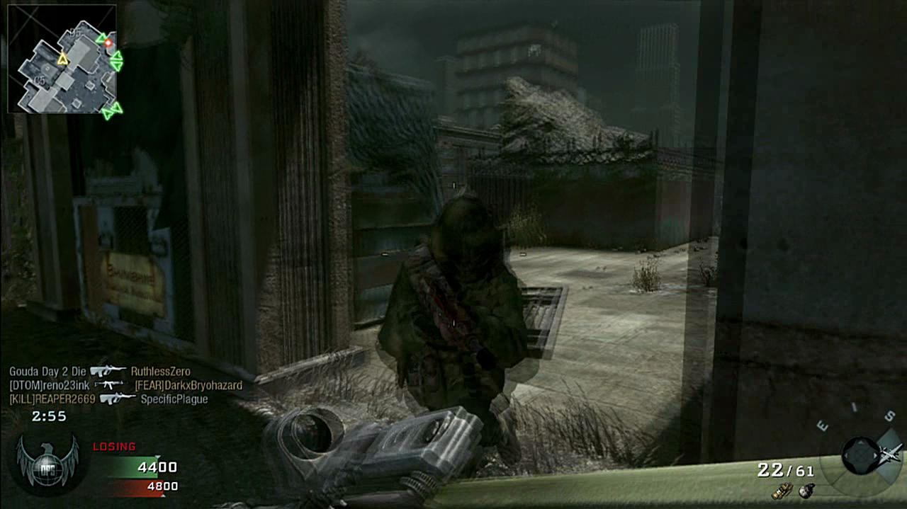 Call of Duty Black Ops - Ecalation Zoo Gameplay