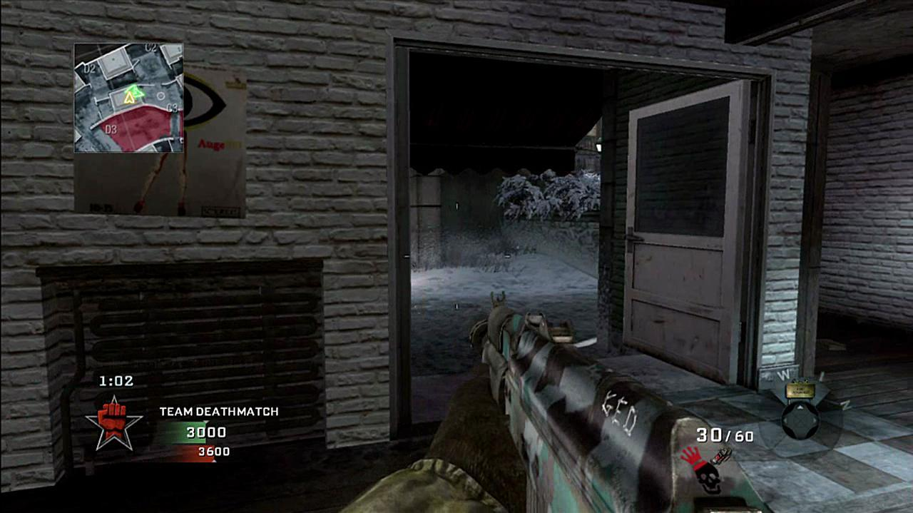 Call of Duty Black Ops Berlin Wall Gameplay
