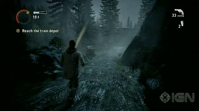Alan Wake X360 - Walkthrough - Alan Wake - Nightmare Difficulty - Episode 3 - Bridge