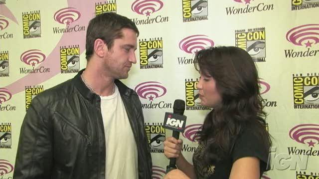 300 Movie Interview - Gerard Butler At WonderCon 07