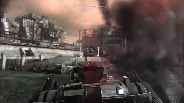 Killzone 2 PlayStation 3 Gameplay - GC 2008 Tank (Off Screen)