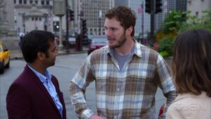 Parks and Recreation Season 7 - Tom and Andy in Chicago