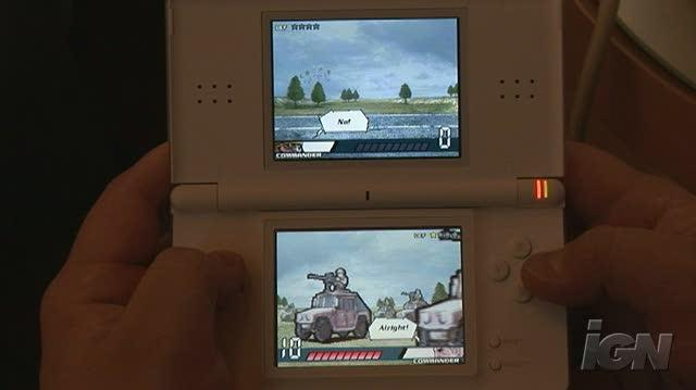 Advance Wars Days of Ruin Nintendo DS Gameplay - Recovery (Off Screen)