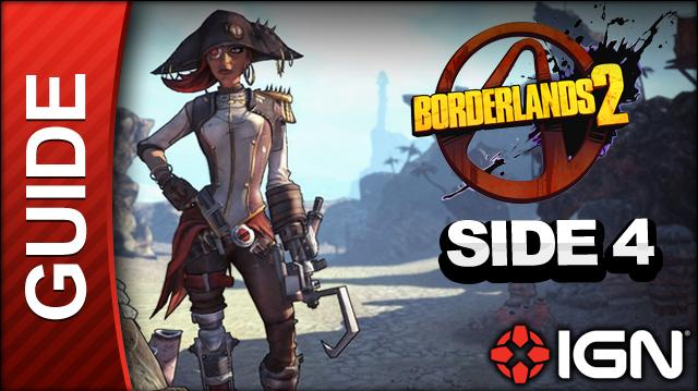Borderlands 2 Captain Scarlett and Her Pirate's Booty DLC Walkthrough - Message in a Bottle Magnys Tower - Side Mission (Part 4)