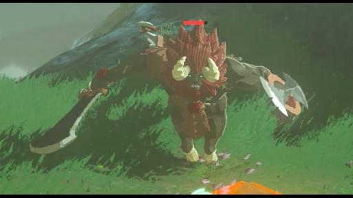 Zelda Breath of the Wild - Riding A Lynel