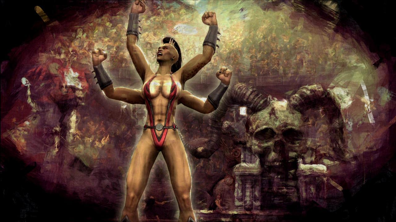 Mortal Kombat Sheeva Ending Video