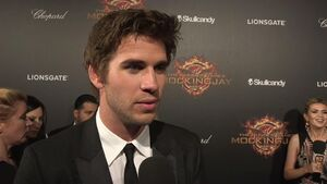 The Hunger Games Mockingjay Part 1 - Liam Hemsworth Interview