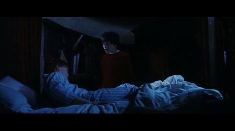 Harry Potter and the Sorcerer's Stone - Ron looks into the mirror