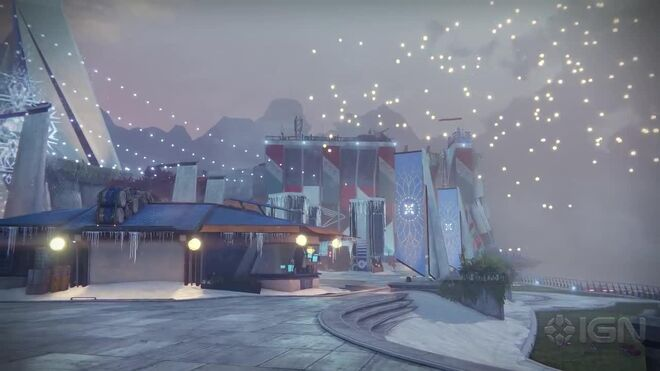 Destiny's Winter Update Disappears - Goodbye Gameplay Montage