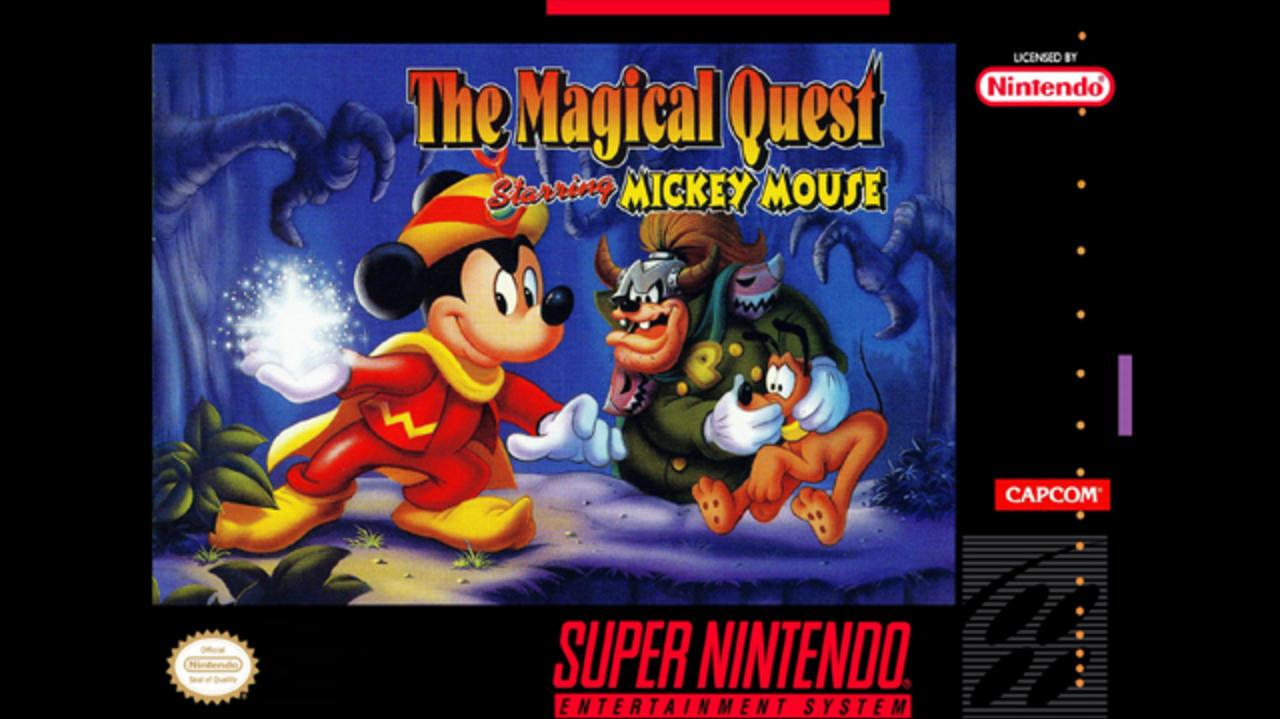 The Magical Quest starring Mickey Mouse 1st Level