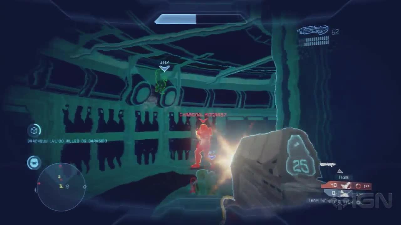Halo 4 Multiplayer - Abandon - Gameplay