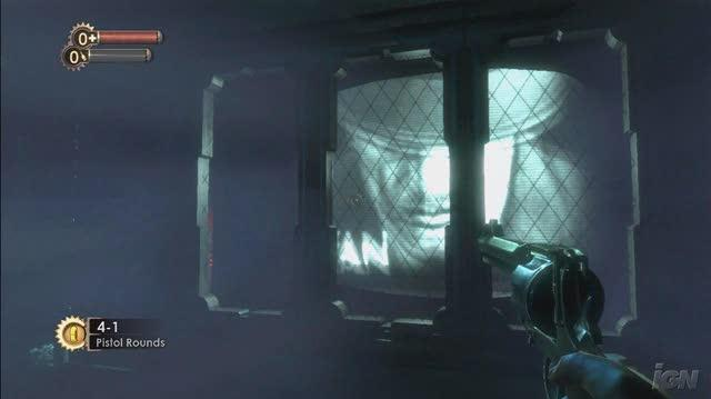 BioShock Xbox 360 Gameplay - Pistol (HD)