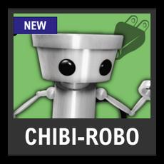 Super Smash Bros. Strife character box - Chibi-Robo