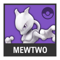 Super Smash Bros. Strife character box - Mewtwo