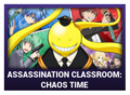 J-Games game box - Assassination Classroom Chaos Time