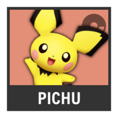 Super Smash Bros. Strife character box - Pichu