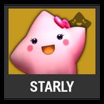 Super Smash Bros. Strife character box - Starly