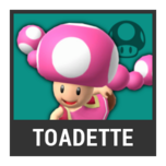 Super Smash Bros. Strife character box - Toadette