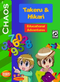 Takeru and Hikari Educational Adventures Box Art