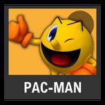 Super Smash Bros. Strife character box - Pac-Man GA