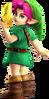 Super Smash Bros. Strife recolour - Young Link 6