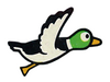 Brawl Sticker Duck (Duck Hunt)