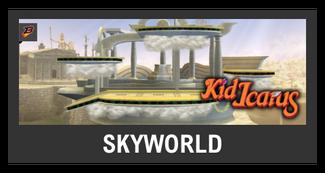 Super Smash Bros. Strife stage box - Skyworld